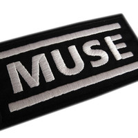 Muse Iron On Patch
