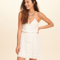 Girls Embroidered Lace Dress | Girls Dresses & Rompers | HollisterCo.com