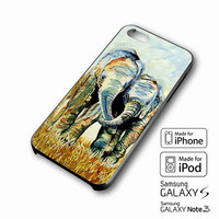 Two elephants iPhone case 4/4s, 5S, 5C, 6, 6 +, Samsung Galaxy case S3, S4, S5, Galaxy Note Case 2,3,4, iPod Touch case 4th, 5th, HTC One Case M7/M8