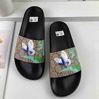 GG summer fashion all-match non-slip slippers shoes-11