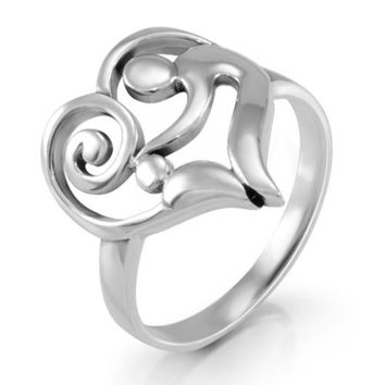 Waldorff's: Heart-Shaped Mother and Child Ring $12.99 - $17.99