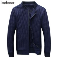 Hot Sale 2016 New Fashion Brand Jacket Men Clothes Trend College Slim Fit High-Quality Casual Mens Jackets And Coats M-5XL