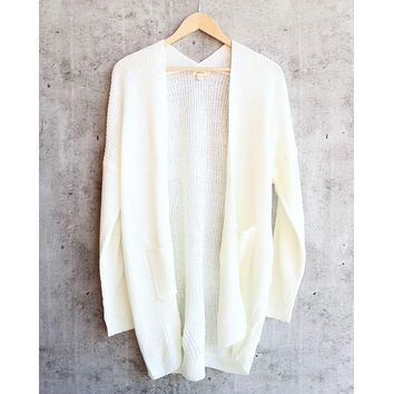 Dreamers - Lightweight Open Front Cardigan in More Colors