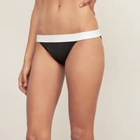 Banded Triangle Swim Top