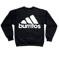 ALL DAY I DREAM ABOUT BURRITOS SWEATER