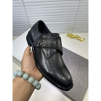 Balenciaga men's Casual Running Sport Shoes Sneakers Leather Shoes 07083