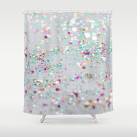 Surprise Party Shower Curtain by Lisa Argyropoulos