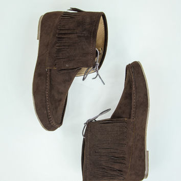 Majestic Moccasins in Brown