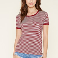 Striped Ringer Tee | Forever 21 - 2000178083