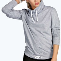 Lana Funnel Neck Sports Sweat