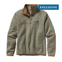 Patagonia Diamond Quilt Snap-T® Pullover | Fatigue Green