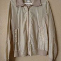 vintage wind breaker by Briarcliffe Collection. 90's jacket. MEDIUM