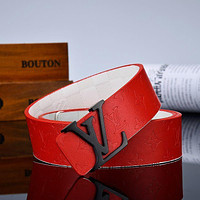Louis Vuitton LV classic letter buckle belt men and women belts