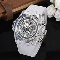 8DESS HUBLOT Woman Men Fashion Automatic Mechanical Wristwatch Watch