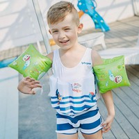 Boys Professional Float Swimming Suits Buoyancy Swimwear Kids Training Swimming Detachable Swimsuits Kids Life Jacket 2-6 years