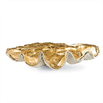 Gold Clam Bowl