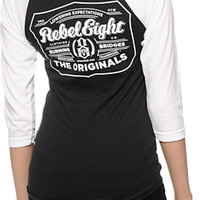 REBEL8 Hops Baseball Tee