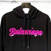 BALENCIAGA Autumn Winter Fashion Women Men Casual Print Hoodie Sweater Sweatshirt