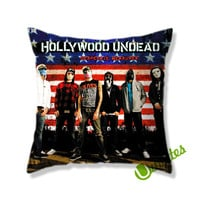 Hollywood Undead Desperate Measures Square Pillow Cover