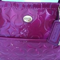 COACH PEYTON EMBOSSED PATENT LEATHER TOTE BAG PURSE BAG -  F26901 - NWT