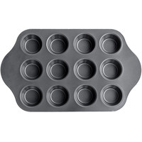 Evelots® 12 Cup Deluxe Mini Cheese Cake Pan - Desserts, Cupcakes, Muffins