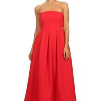 Cocktail Prom Red Dress