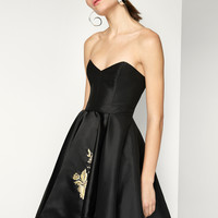 Black The Nova Dress | Fame & Partners USA