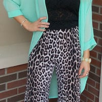 Seeing Spots Palazzo Pants - Haute Pink Boutique