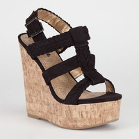 Soda Sotto Womens Shoes Black  In Sizes