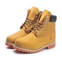 Timberland Rhubarb boots for men and women shoes waterproof Martin boots shoes