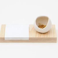 Ash and Porcelain desk catchall by farrahsit on Etsy