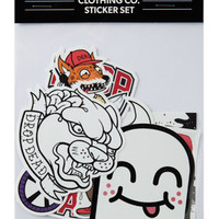 Panther Sticker Pack, Drop Dead Clothing