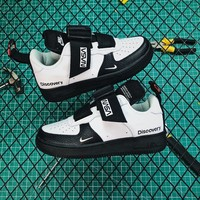 Nasa X Nike Air Force 1 Utility Qs Black/ White Sneakers - Best Online Sale