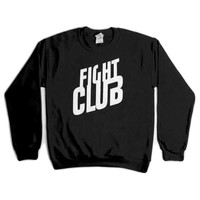 Fight Club Sweater- Black