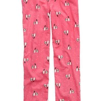 Aerie Women's Flannel Pajama Pant (Warm Pink)