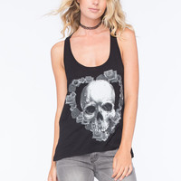 Metal Mulisha Fade Into Darkness Womens Tank Black  In Sizes