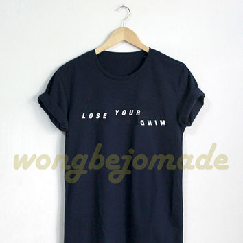 Teen Wolf Shirt Stiles Stilinski Lose Your Mind Tshirt Black Grey and Navy Color T-Shirt