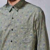 Koto Exploding Dots Linen Button-Down Shirt