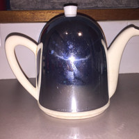 Art Deco Vintage Ever Hot Tea Pot / Mid Century Ever Hot Kettle / retro tea pot