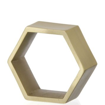 Hexagon napkin rings 4-pack from Ferm Living by Ferm Living