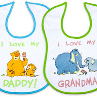 Terry Cloth Bib with Sayings Case Pack 36
