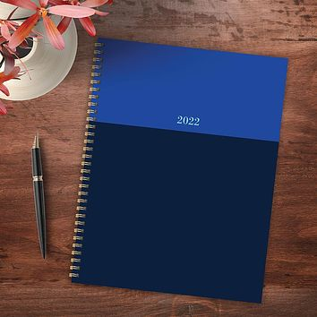 Blue Blockers Large Weekly Monthly Planner + Coordinating Planning Stickers