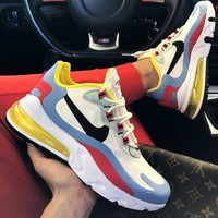 NIKE Women/Men AIR MAX 270 REACT Gym shoes