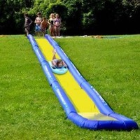 Rave Sports Turbo Chute Backyard Package Water Slide