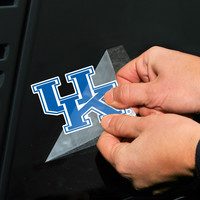 "University of Kentucky Wildcats Blue UK Perfect Cut Color Decal 4"" x 4"""