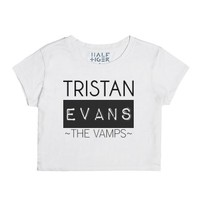 The Vamps Tristan-Female Snow T-Shirt