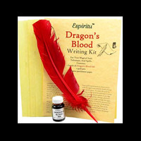 "Red Ink Writing Kit ""Dragon's Blood"""