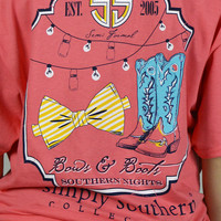 Bows & Boots Simply Southern Tee