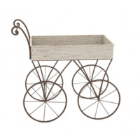 Wood and Metal Hand Cart