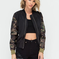 Commando Camo Bomber Jacket